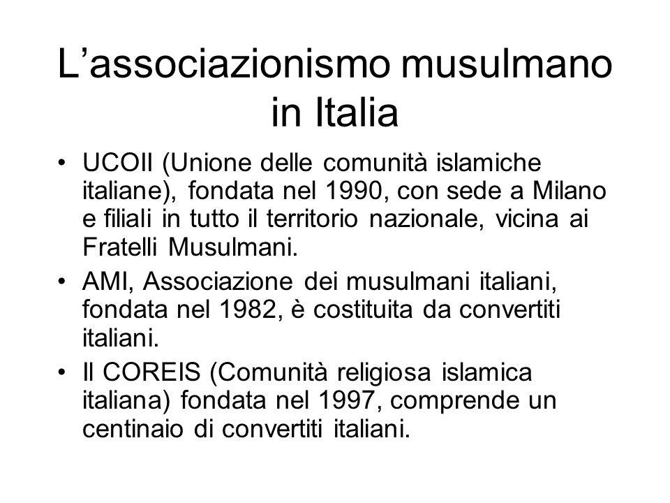 L'associazionismo musulmano in Italia