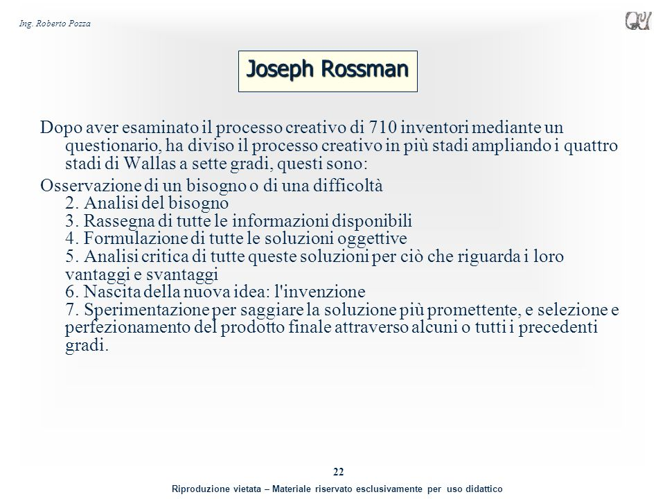 Joseph Rossman