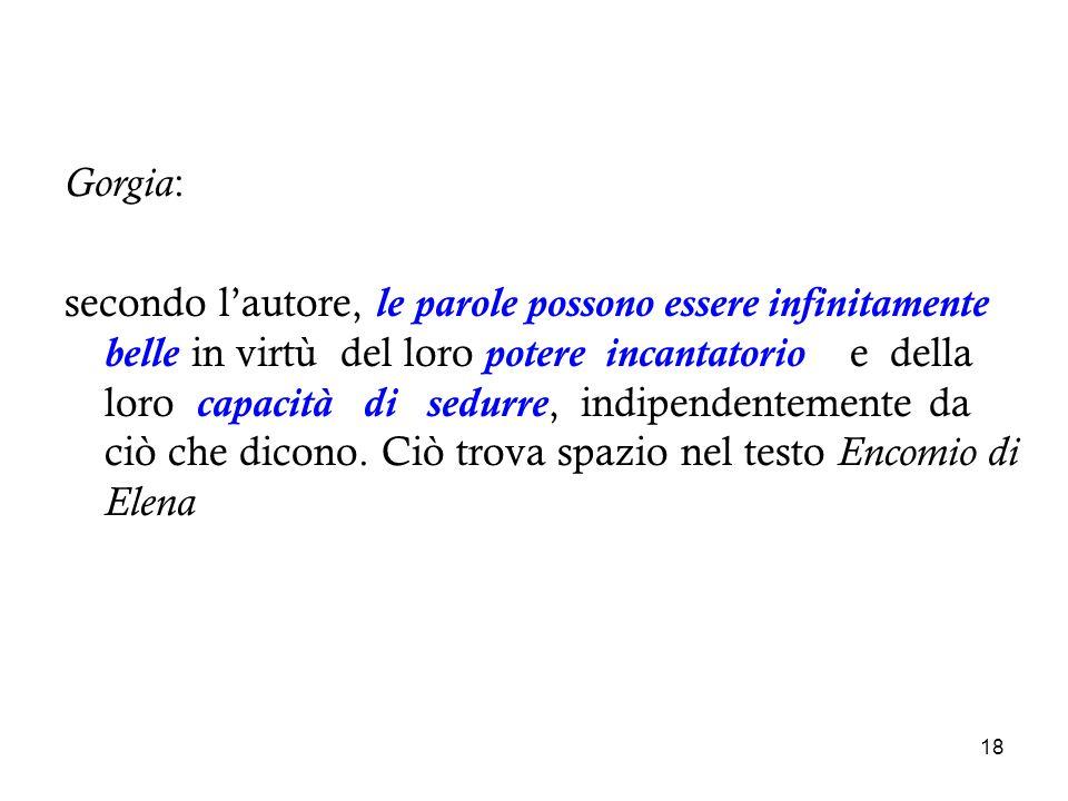 Gorgia: