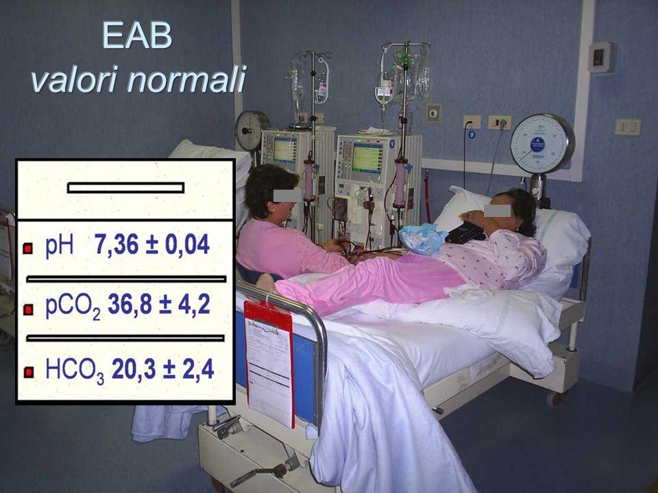 EAB valori normali Questi potrebbero essere considerati i valori normali nei dializzati