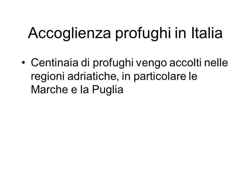 Accoglienza profughi in Italia