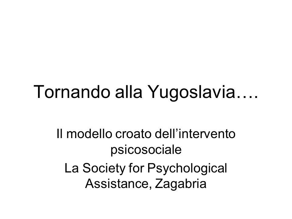 Tornando alla Yugoslavia….