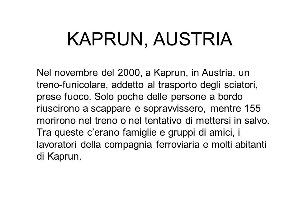 KAPRUN, AUSTRIA