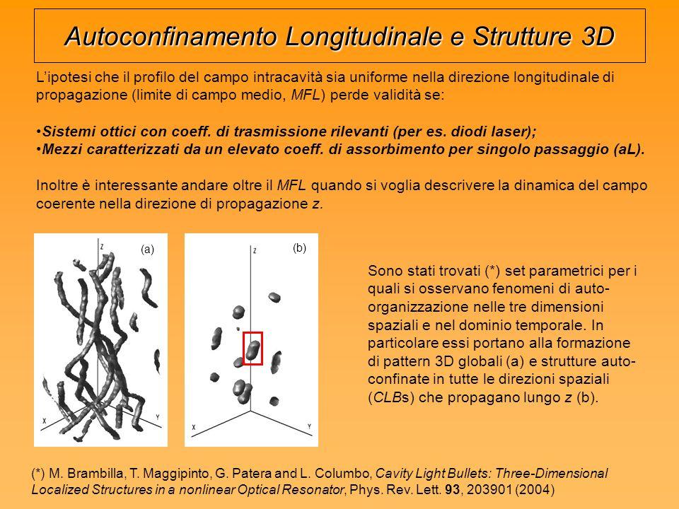 Autoconfinamento Longitudinale e Strutture 3D