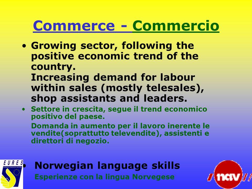 Commerce - Commercio