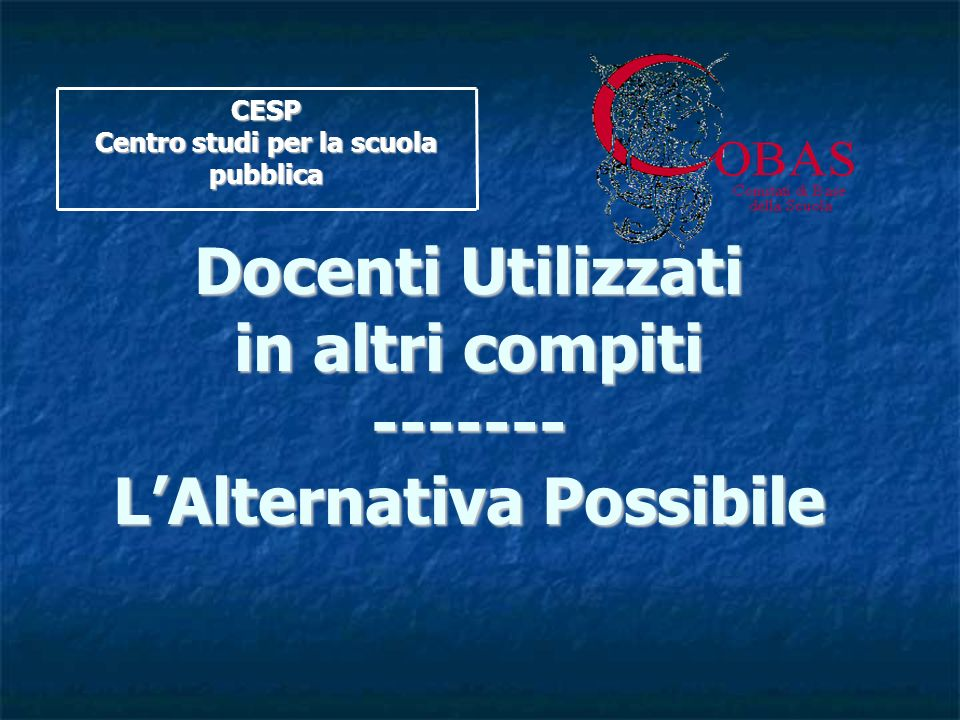 L'Alternativa Possibile