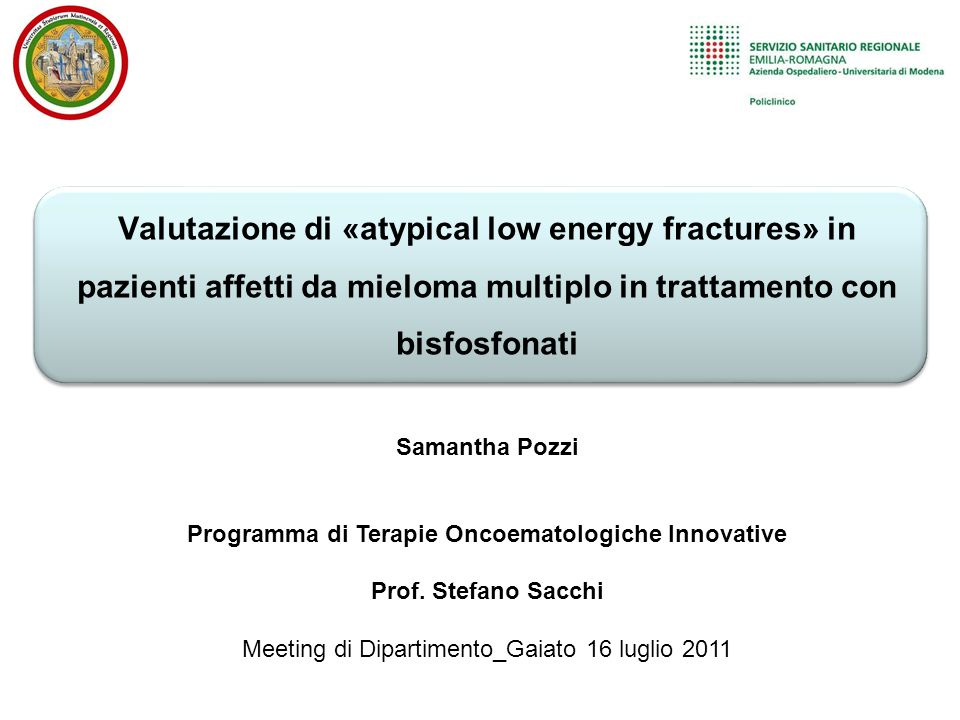 Programma di Terapie Oncoematologiche Innovative