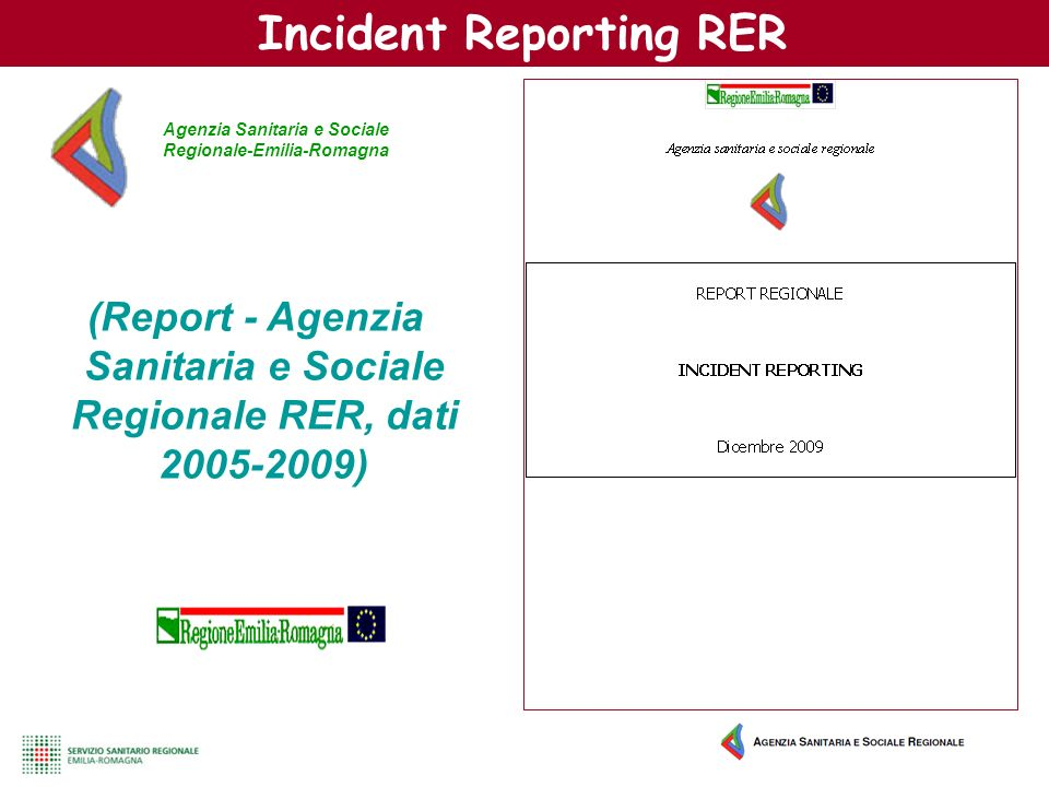 Incident Reporting RER