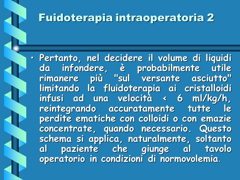 Fuidoterapia intraoperatoria 2