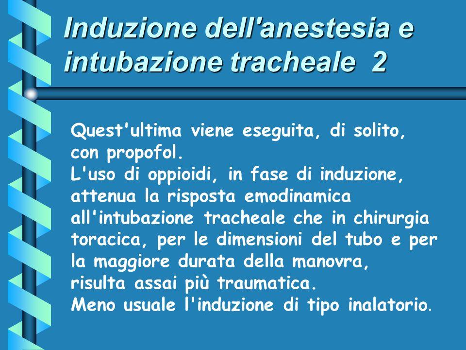 Induzione dell anestesia e intubazione tracheale 2