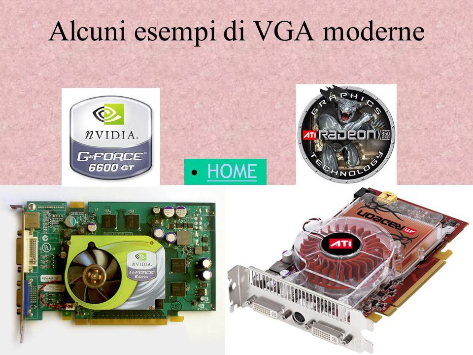 Alcuni esempi di VGA moderne
