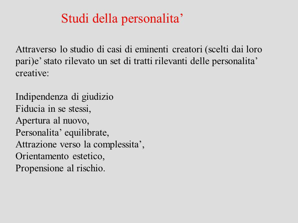 Studi della personalita'
