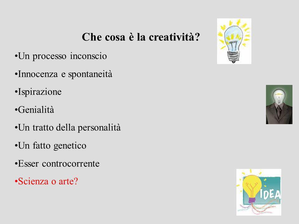 Che cosa è la creatività