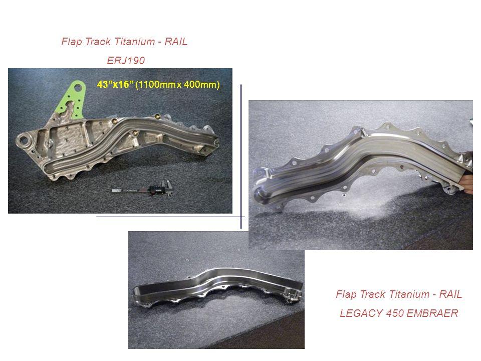 Flap Track Titanium - RAIL ERJ190