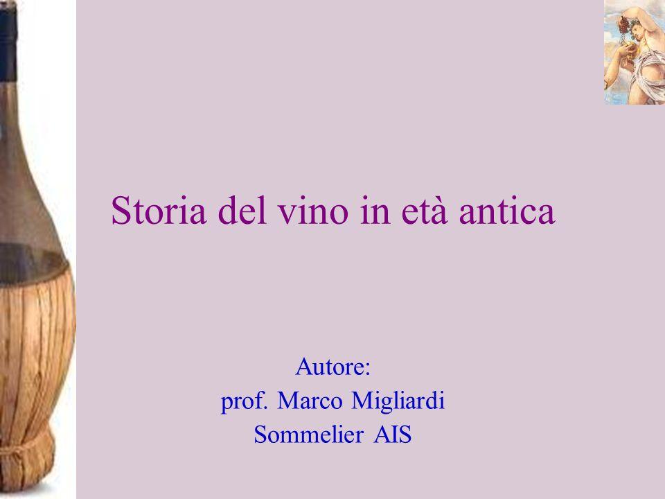 Storia del vino in età antica