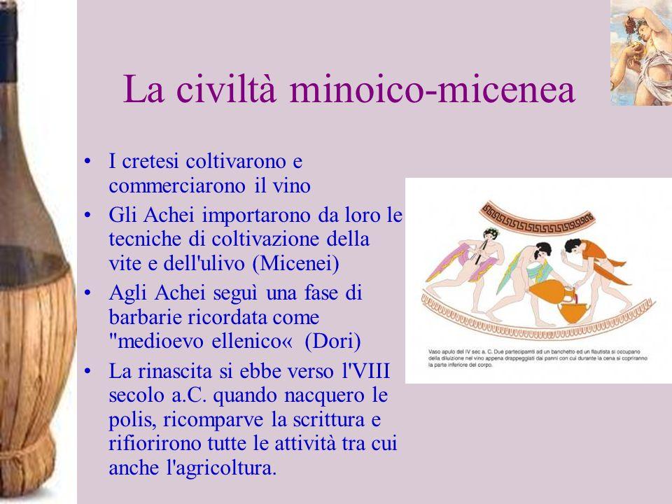 La civiltà minoico-micenea