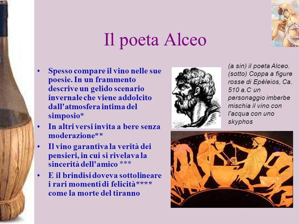 Il poeta Alceo