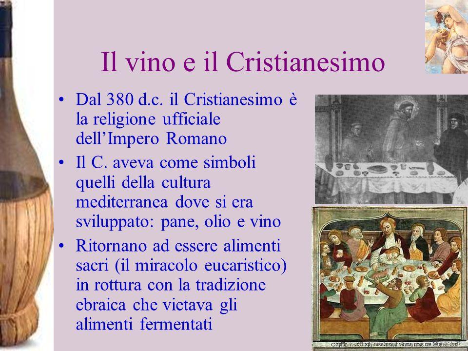 Il vino e il Cristianesimo