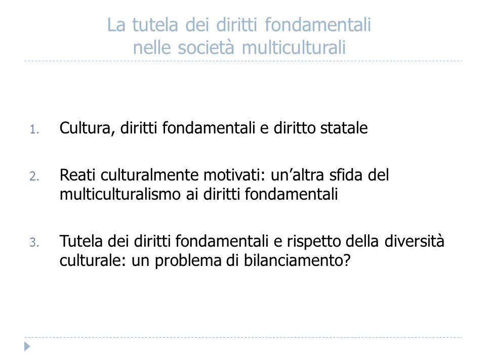 La tutela dei diritti fondamentali nelle società multiculturali