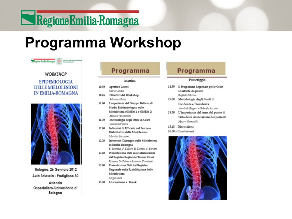 Programma Workshop