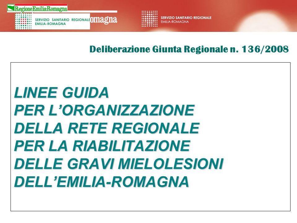 Deliberazione Giunta Regionale n. 136/2008