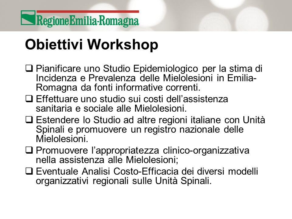 Obiettivi Workshop