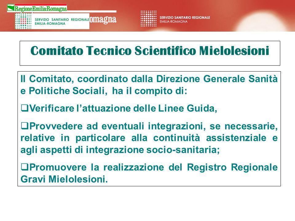 Comitato Tecnico Scientifico Mielolesioni