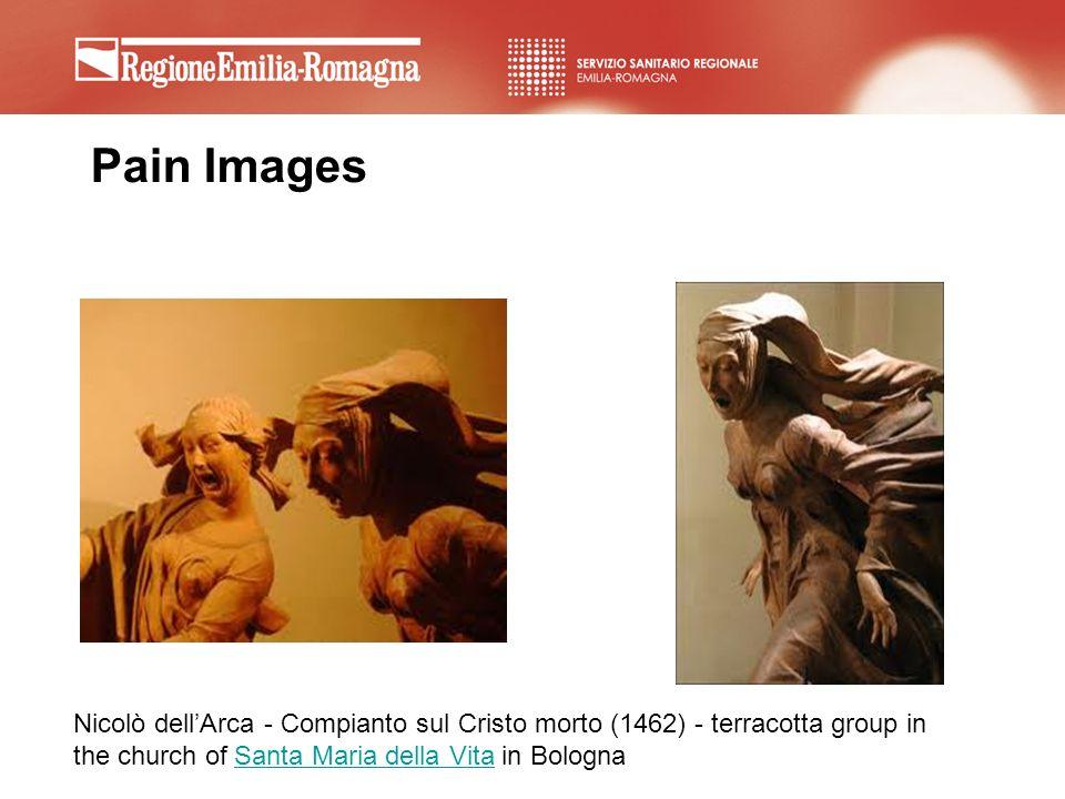 Pain Images Nicolò dell'Arca - Compianto sul Cristo morto (1462) - terracotta group in the church of Santa Maria della Vita in Bologna.