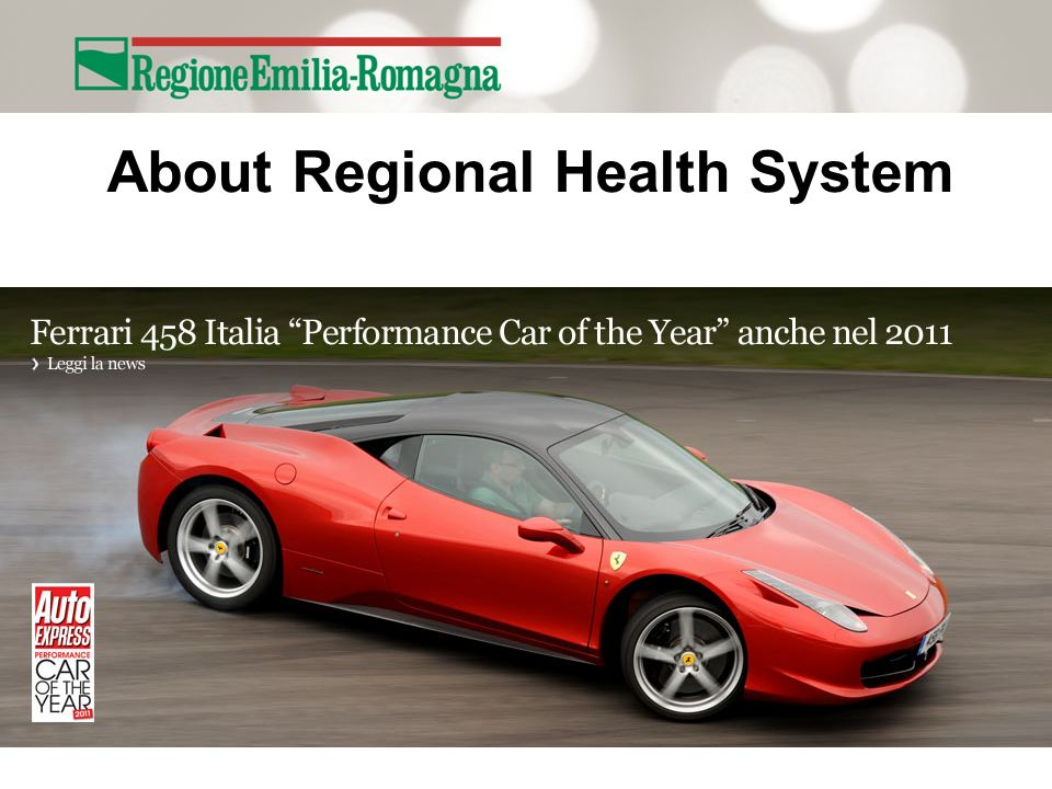 About Regional Health System