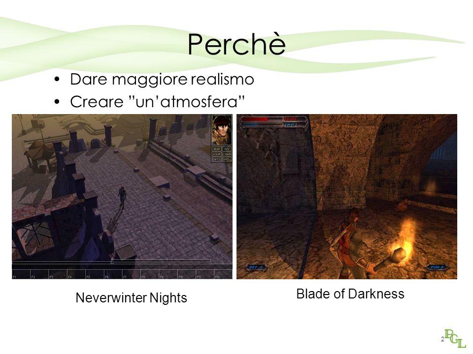 Perchè Dare maggiore realismo Creare un'atmosfera Blade of Darkness