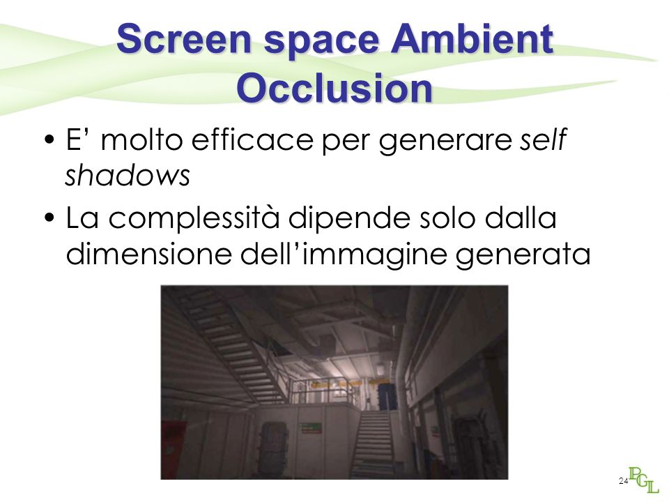 Screen space Ambient Occlusion