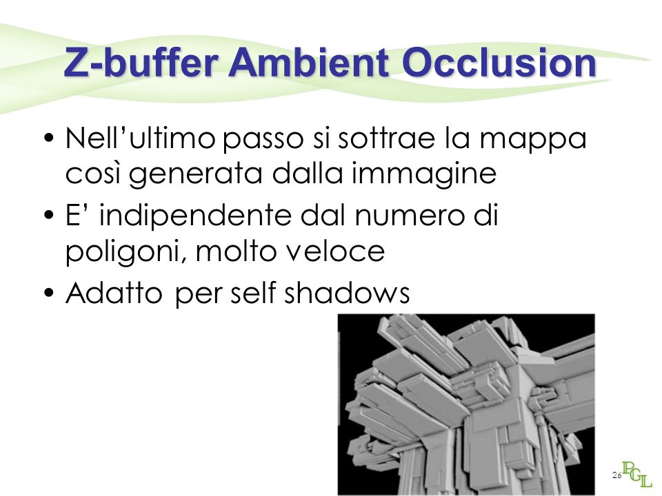 Z-buffer Ambient Occlusion