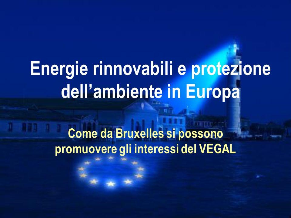 Energie rinnovabili e protezione dell'ambiente in Europa