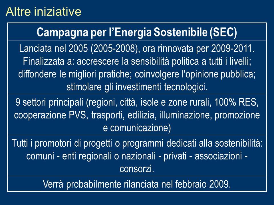 Campagna per l'Energia Sostenibile (SEC)