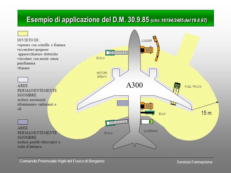 Esempio di applicazione del D.M. 30.9.85 (circ.16194/3405 del 19.8.87)