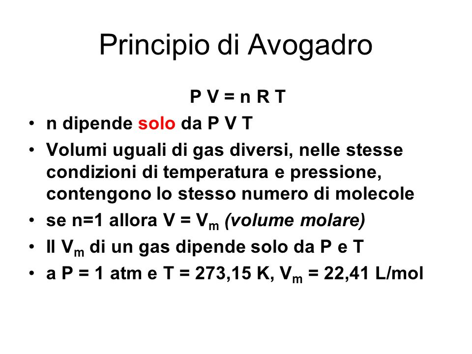 Composizione dell 39 aria ppt scaricare - Volumi uguali di gas diversi ...