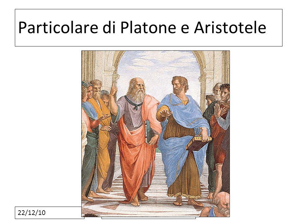 Particolare di Platone e Aristotele