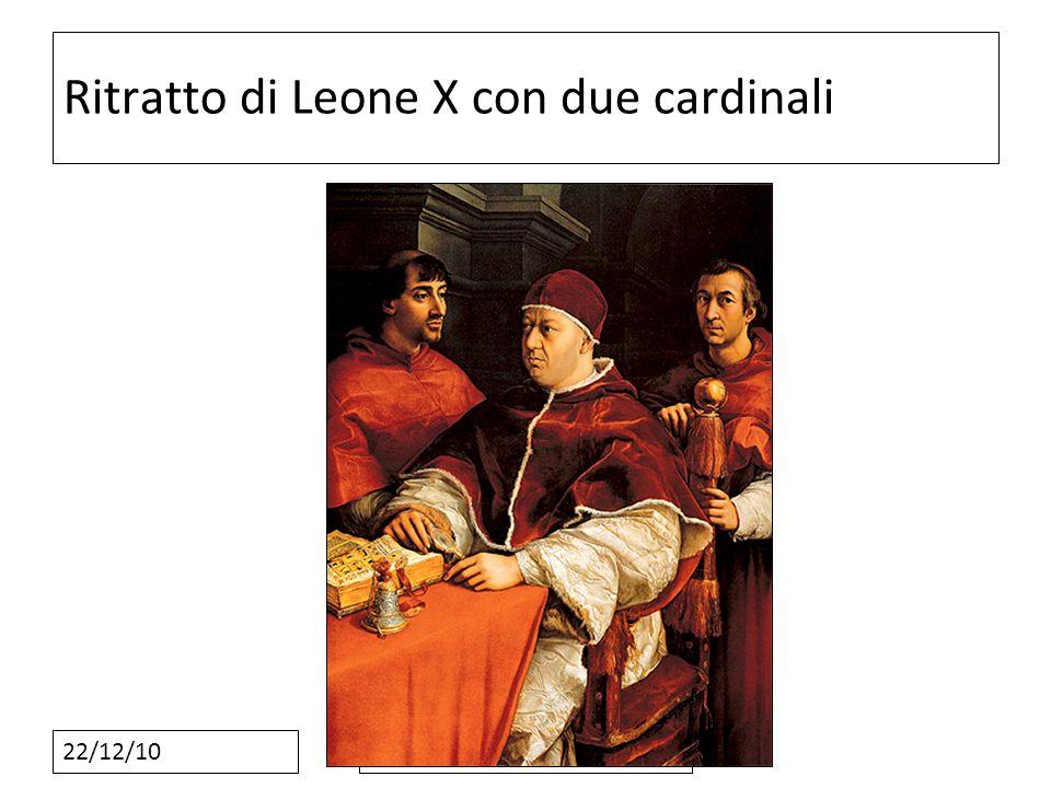 Ritratto di Leone X con due cardinali