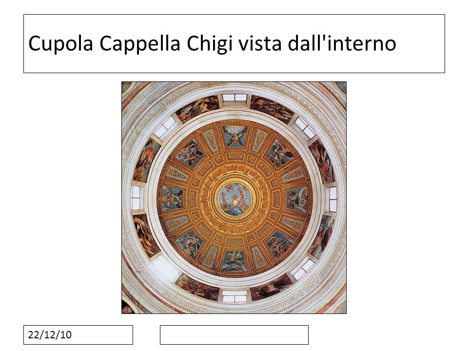 Cupola Cappella Chigi vista dall interno