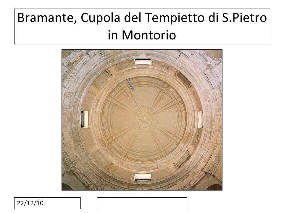 Bramante, Cupola del Tempietto di S.Pietro in Montorio