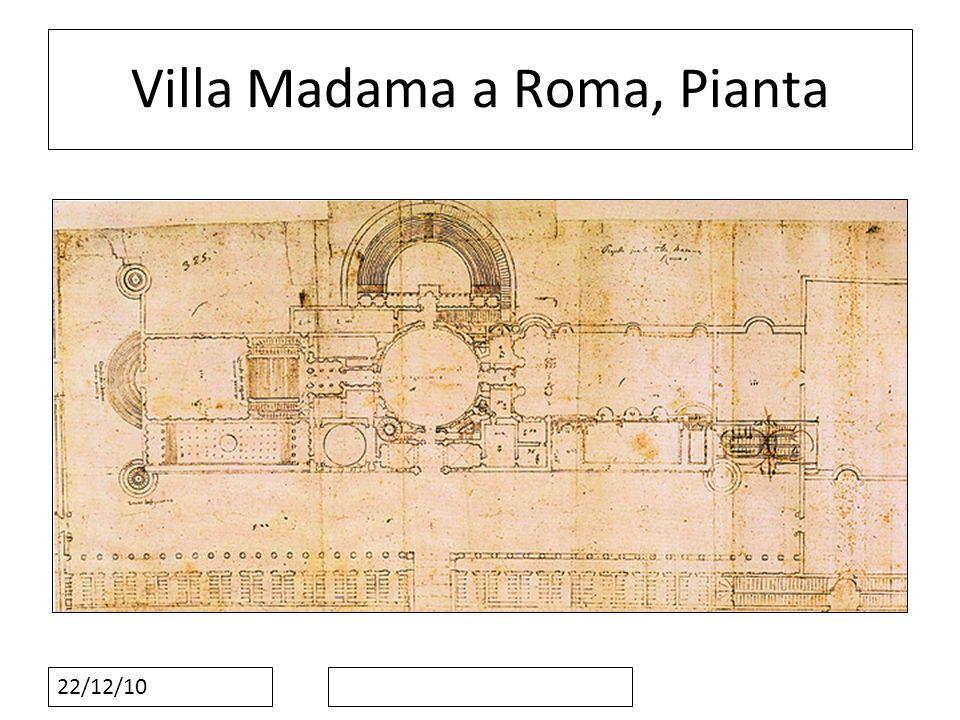 Villa Madama a Roma, Pianta