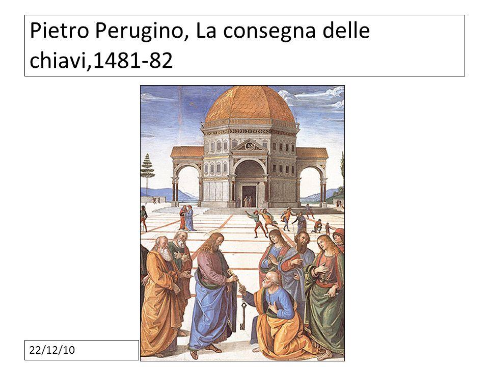 Pietro Perugino, La consegna delle chiavi,1481-82