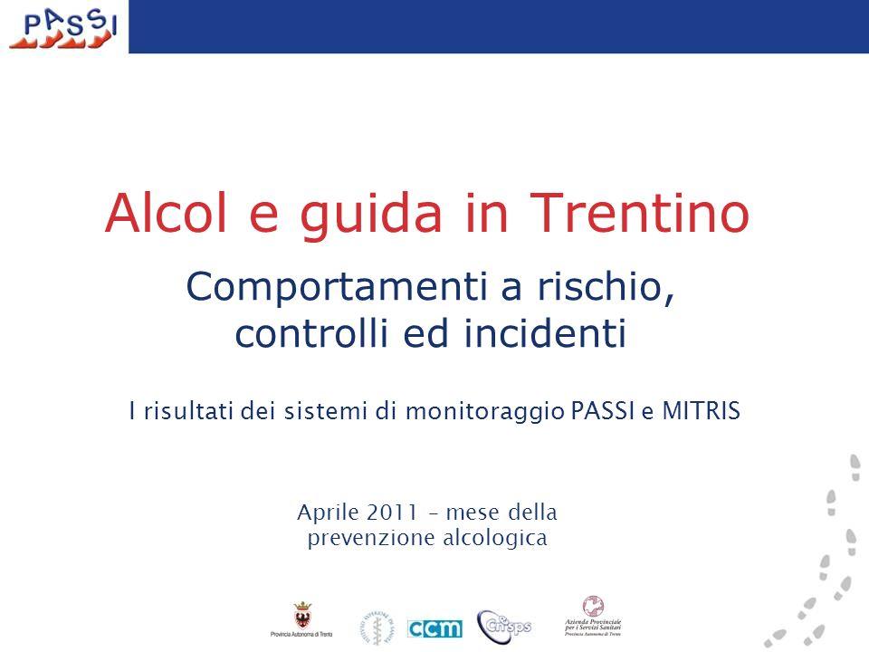 Alcol e guida in Trentino