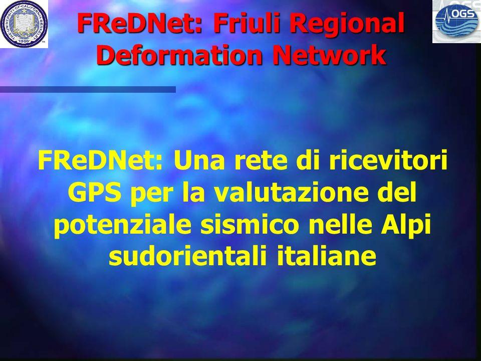 FReDNet: Friuli Regional Deformation Network