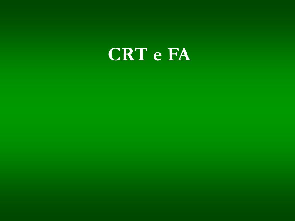 CRT e FA