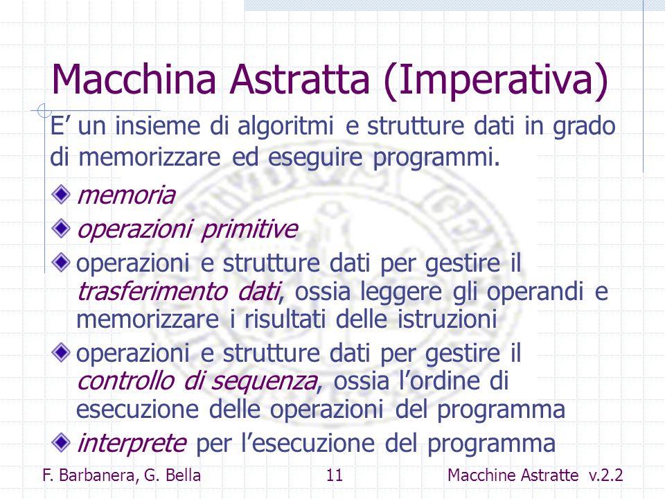Macchina Astratta (Imperativa)