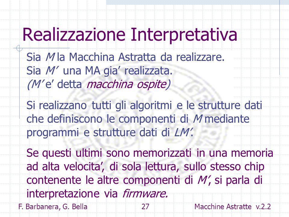 Realizzazione Interpretativa