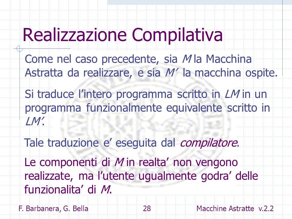 Realizzazione Compilativa