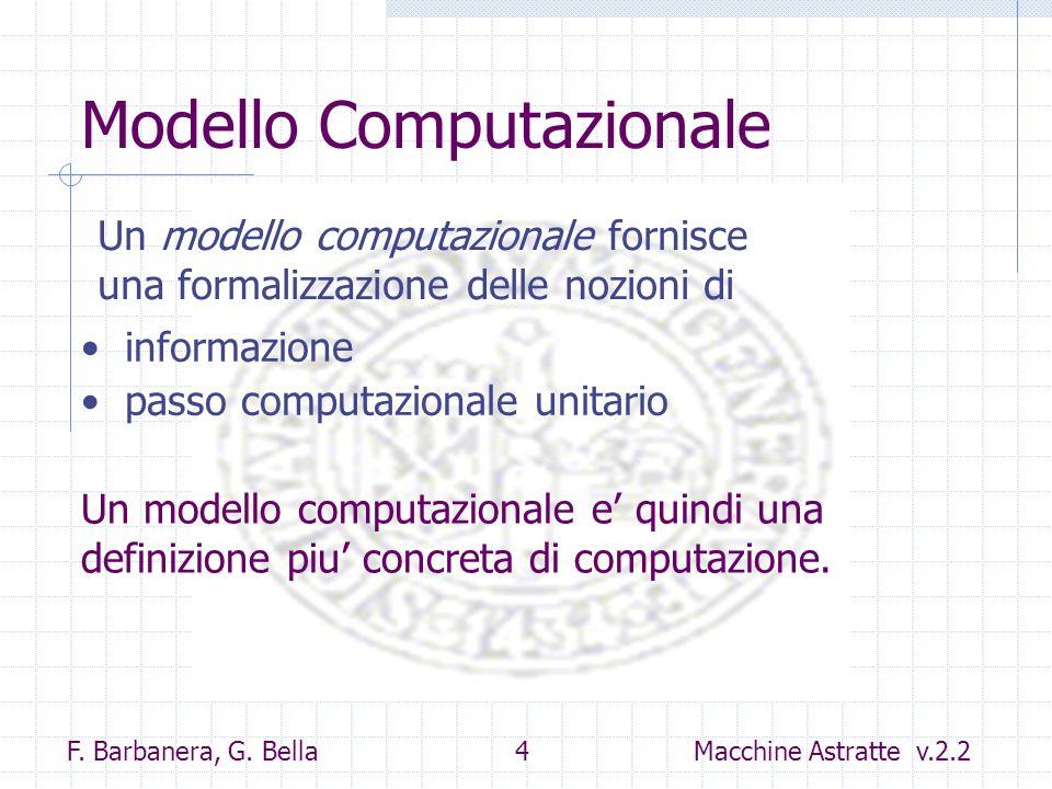 Modello Computazionale