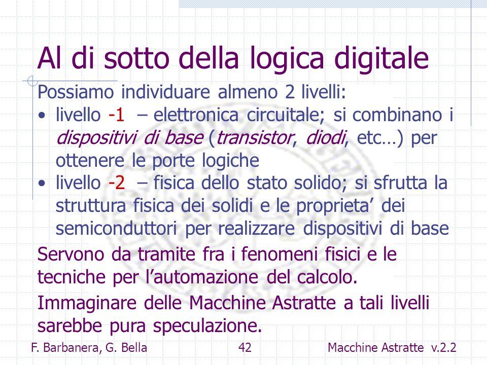 Al di sotto della logica digitale